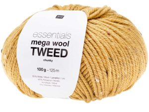 Rico Design Essentials Mega Wool Tweed Chunky