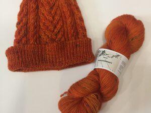 Atelier Franziska Uhl Sockenwolle Tweed 6-Fach