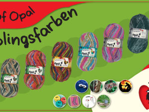 Opal - Best of 4-fach - Kollektion Lieblingsfarben