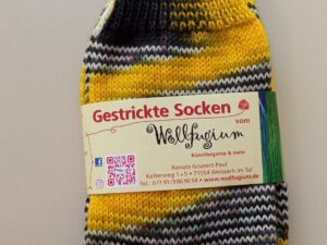 Gestrickte Socken - Größe 40