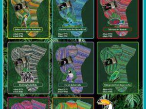 Opal 4fach - Regenwald 15